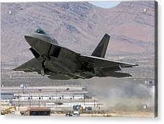 Air Force Holds Joint Expeditionary Force Experiment 2006 Acrylic Print by Ethan Miller