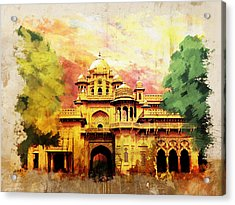 Aitchison College Acrylic Print by Catf