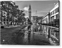 Albert Memorial Clock Acrylic Print