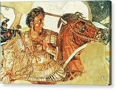 Alexander The Great (356-323 B Acrylic Print