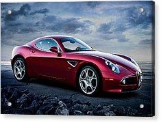Alfa Romeo 8c Acrylic Print by Douglas Pittman