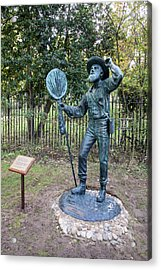 Alfred Russel Wallace Statue Acrylic Print