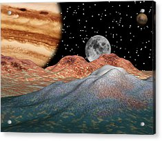 Alien Sky Acrylic Print