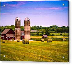 All In A Day's Work Acrylic Print