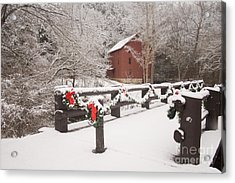 Alley Mill Acrylic Print