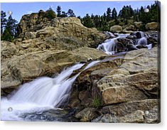 Alluvial Fan Acrylic Print by Tom Wilbert