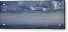 Alone Acrylic Print by Don Powers