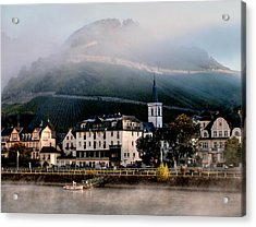 Acrylic Print featuring the photograph Along The Rhine by Jim Hill