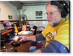 Amateur Radio Operator Acrylic Print by Jim West