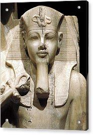 Amenhotep IIi And God Sobek. S.xiv Bc Acrylic Print