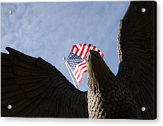 America Acrylic Print by Off The Beaten Path Photography - Andrew Alexander