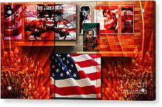 American Celebrity Acrylic Print