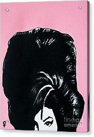 Amy Winehouse Acrylic Print by Venus