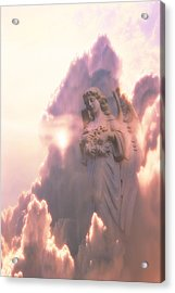 An Angel In The Clouds Acrylic Print by Jim Zuckerman