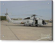 An Sh-60b Seahawk Of The Spanish Navy Acrylic Print