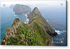 Acrylic Print featuring the photograph Anacapa Panorama by Jeff Loh