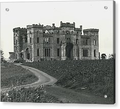 Ancient Castle Goes Up In Smoke. Blown Up By 500 Of Acrylic Print by Retro Images Archive