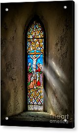 Ancient Glass Acrylic Print by Adrian Evans