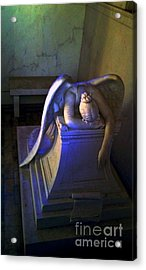 Angelic Sorrow Acrylic Print by Michael Hoard