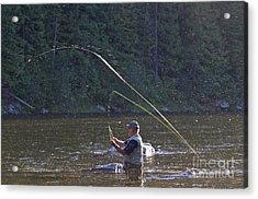 Angler Fly Fishing, Kelly Creek Acrylic Print