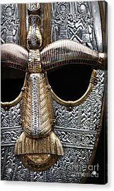 Anglo Saxon Helmet Detail Acrylic Print by Tim Gainey