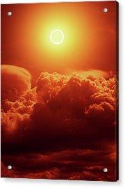 Annular Solar Eclipse Acrylic Print