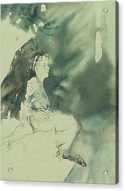 Annunciation Acrylic Print by Chae Min Shim
