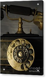 Antique Dial Telephone Acrylic Print