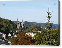 Apollinaris Church In Remagen Germany Acrylic Print by Design Windmill