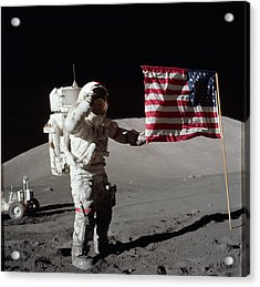 Apollo 17 Mission Acrylic Print by Celestial Images