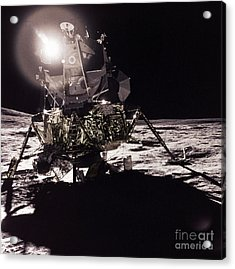 Apollo 17 Moon Landing Acrylic Print by Science Source