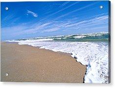Apollo Beach Acrylic Print by Millard H. Sharp