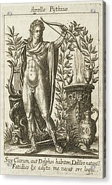 Apollo Pythias, The Greek God Acrylic Print by Mary Evans Picture Library