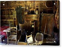 Appalachian Mountain Log Cabin Acrylic Print by Paul W Faust -  Impressions of Light