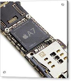 Apple A7 Microchip Acrylic Print