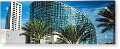Aquarium In A City, Audubon Aquarium Acrylic Print by Panoramic Images