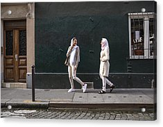 Arab Youth In Paris - Middle Eastern Millennials Acrylic Print by LeoPatrizi