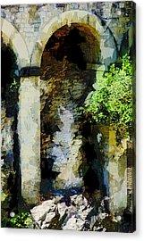 Arches Acrylic Print by John Stuart Webbstock