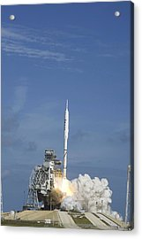 Ares I-x Test Rocket Launch Acrylic Print by Science Photo Library
