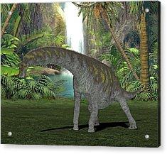 Argentinosaurus Dinosaur Acrylic Print
