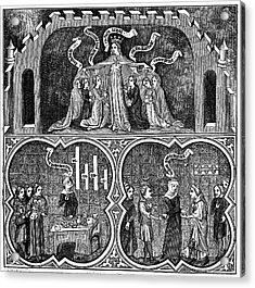 Aristotle Acrylic Print by Universal History Archive/uig