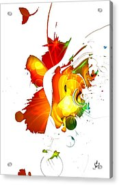 Art-abstract By Nico Bielow Acrylic Print