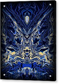 Art Series 8 Acrylic Print by J D Owen