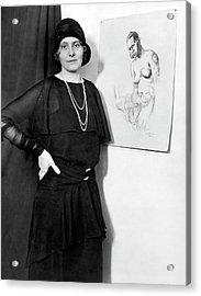 Artist Caroline Mytinger Acrylic Print by Underwood Archives