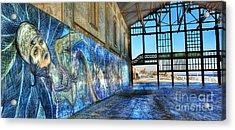 Asbury Park Casino And Carousel House Acrylic Print by Lee Dos Santos