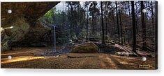 Ash Cave Panorama Acrylic Print