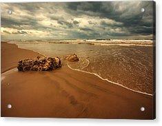 Ashdod Beach Acrylic Print