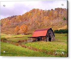 Ashe County Barn Acrylic Print