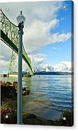 Astoria Bridge Acrylic Print by Rae Berge