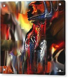 Astral  Acrylic Print by Francoise Dugourd-Caput